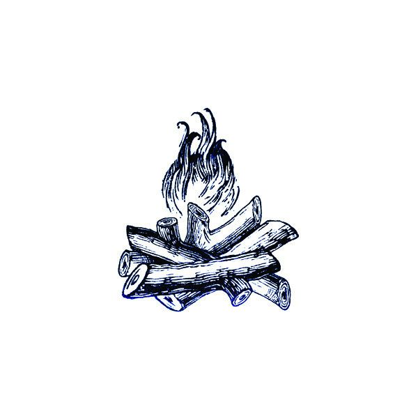 camp fire tattoo - Google Search