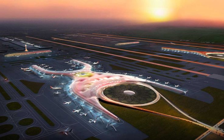 International Airport,Mexico City by Foster+Partners and FR-EE Fernando Romero