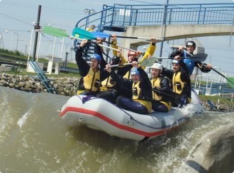 Rafting in #bratislava #stagdo