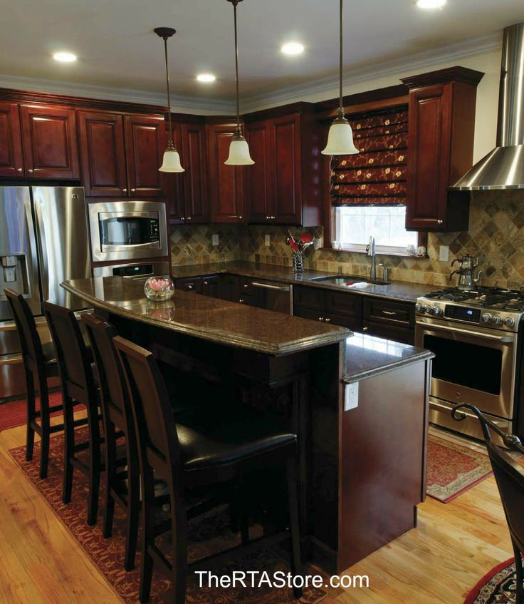 Charmant Sonoma Merlot Kitchen Cabinets! What Would You Cook In This Kitchen? Repin!  #