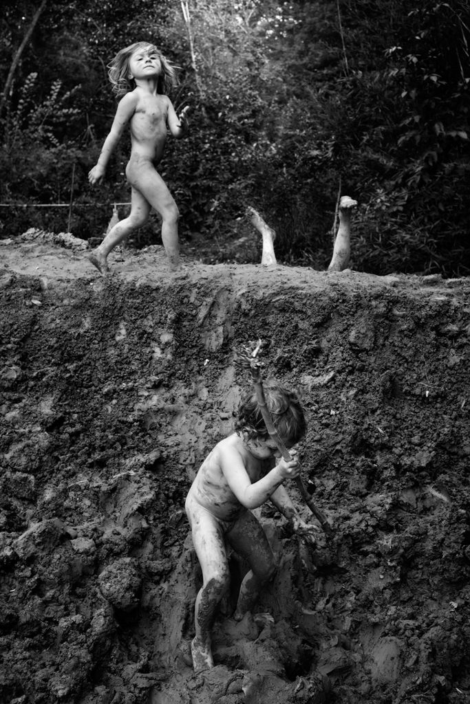 "Alain Laboile, ""Untitled"" from the series ""La Famille,"" digital pigment print. http://www.laboile.com/"