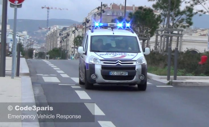 Voiture de Police Marseille // French Police Car Responding