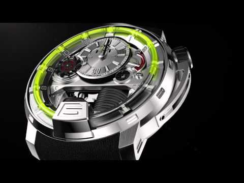 HYT - THE HYDRO MECHANICAL HOROLOGISTS - YouTube
