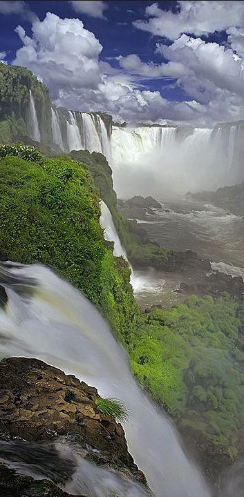 Man kann sich kaum satt sehen: Iguazu Falls, Brazil