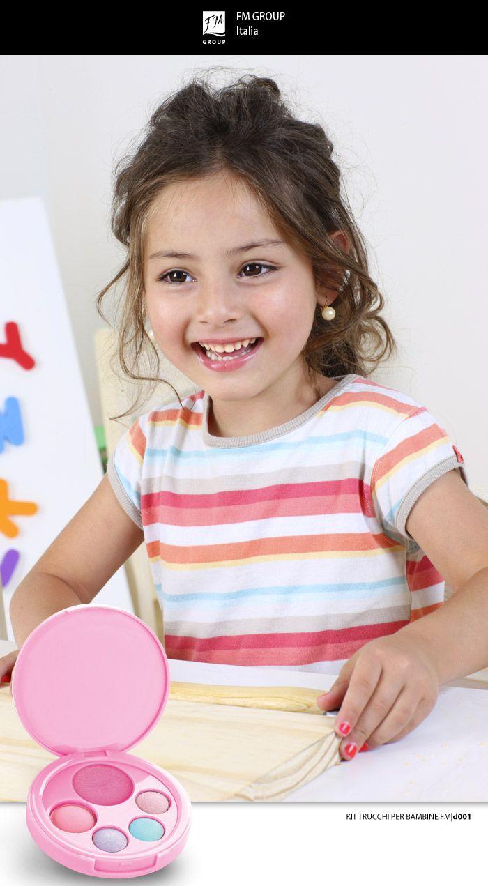 Prodotto - Kit Trucchi per Bambine - Federico Mahora FM GROUP Italia #kids #makeup #safe #children #littleprincess #princess