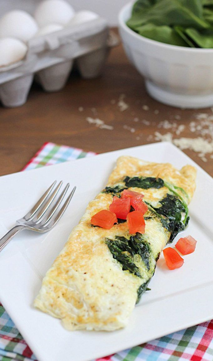 42. Easy Spinach and Egg White Omelette http://greatist.com/fitness/50-awesome-pre-and-post-workout-snacks