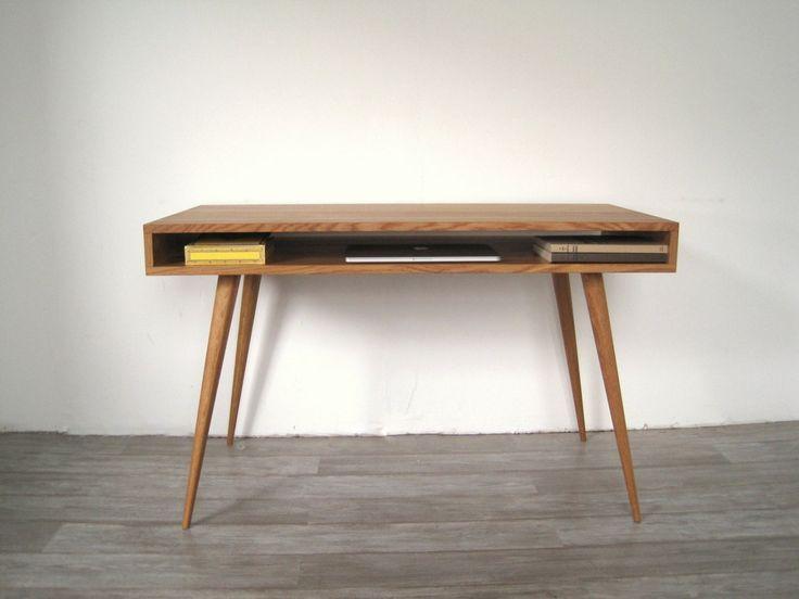 Open Mid Century Modern Desk