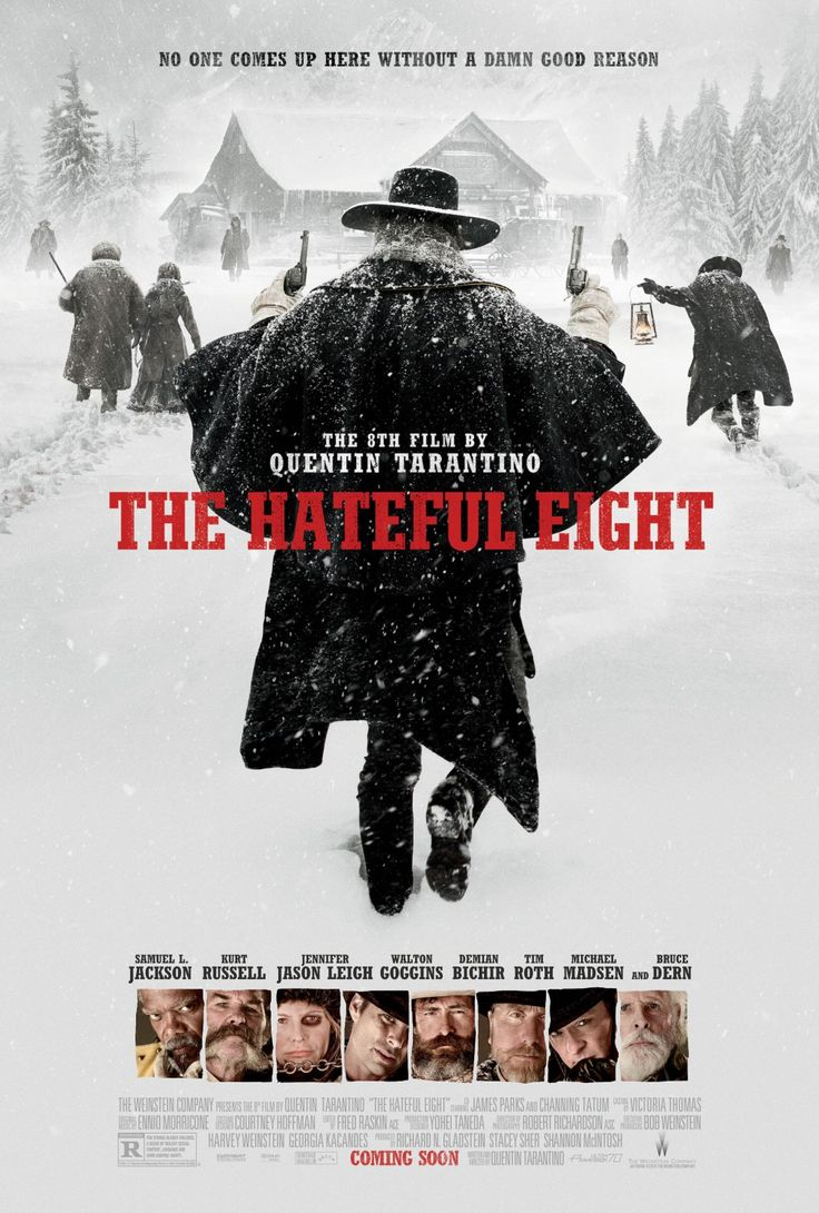 The Hateful Eight - Potently visceral, mind-blowingly twisted and terribly tense. Tarantino still has many tricks up his leave, and this is his darkest film yet. (9/10)