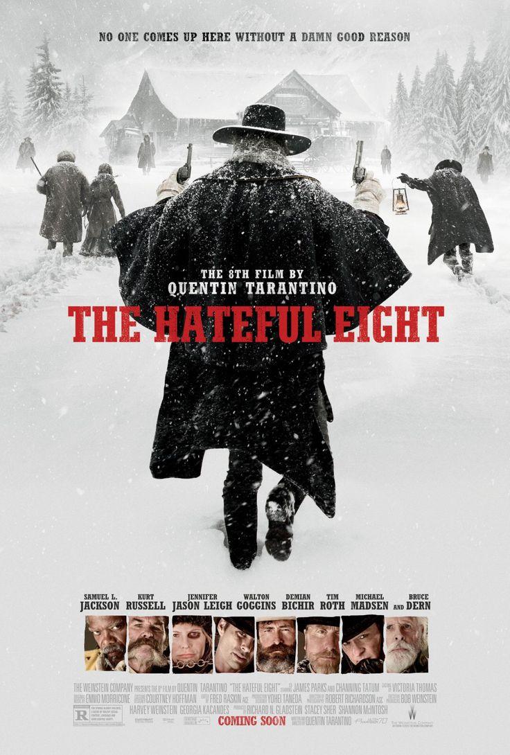 #Póster The Hateful Eight (USA, 2015). #Póster10. Y el 2do bien diseñado y que es efectivo y con una poderosa imagen visual.