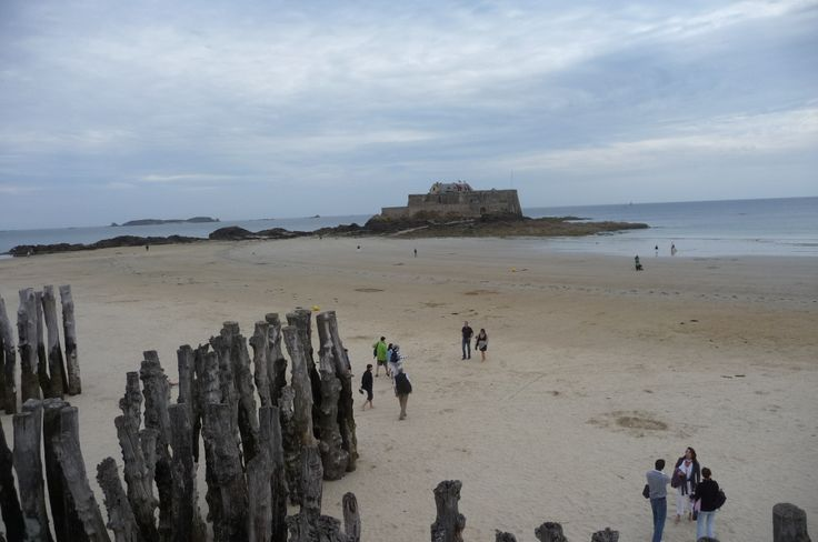 Playa de Saint Malo.