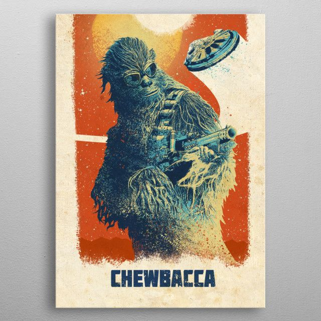 Star Wars Chewie Chewbacca Movie Silk Poster Print 16×24 inch