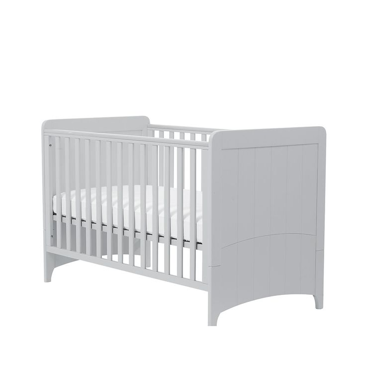 Travel Cot Mattress Tesco: OBaby Grace Cot Bed - Country Pine