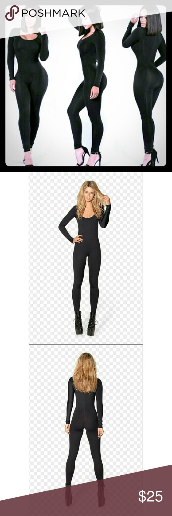 NWT! Meowwww....  Sexy black catsuit NWT. One piece sexy catsuit. Dress it up w/heels or dress it down with boots. Perfect for any occasion Other