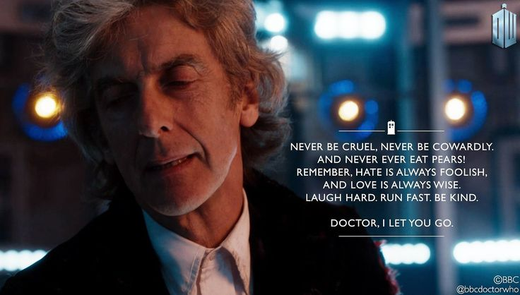 Twelves final words .. and yes, I cried.
