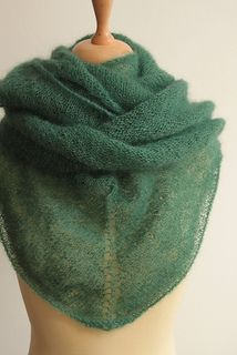 FREE which is great. Just download pattern! Very versatile shawl - can be worn anyway you like.