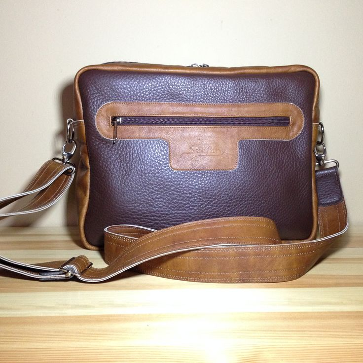 Leather bag for man. http://www.sashe.sk/StefanKrajcovic/detail/kozena-taska-brown