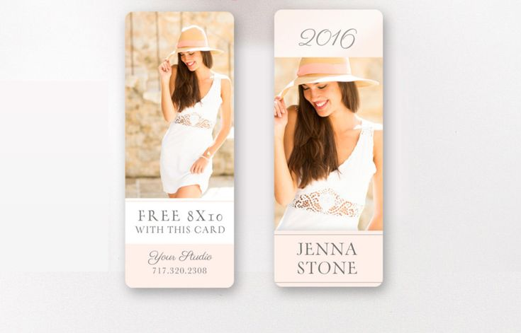 Senior Rep Card Template - Senior Marketing - Senior Photographer Templates - Referral Card - Millers and WHCC - INSTANT DOWNLOAD