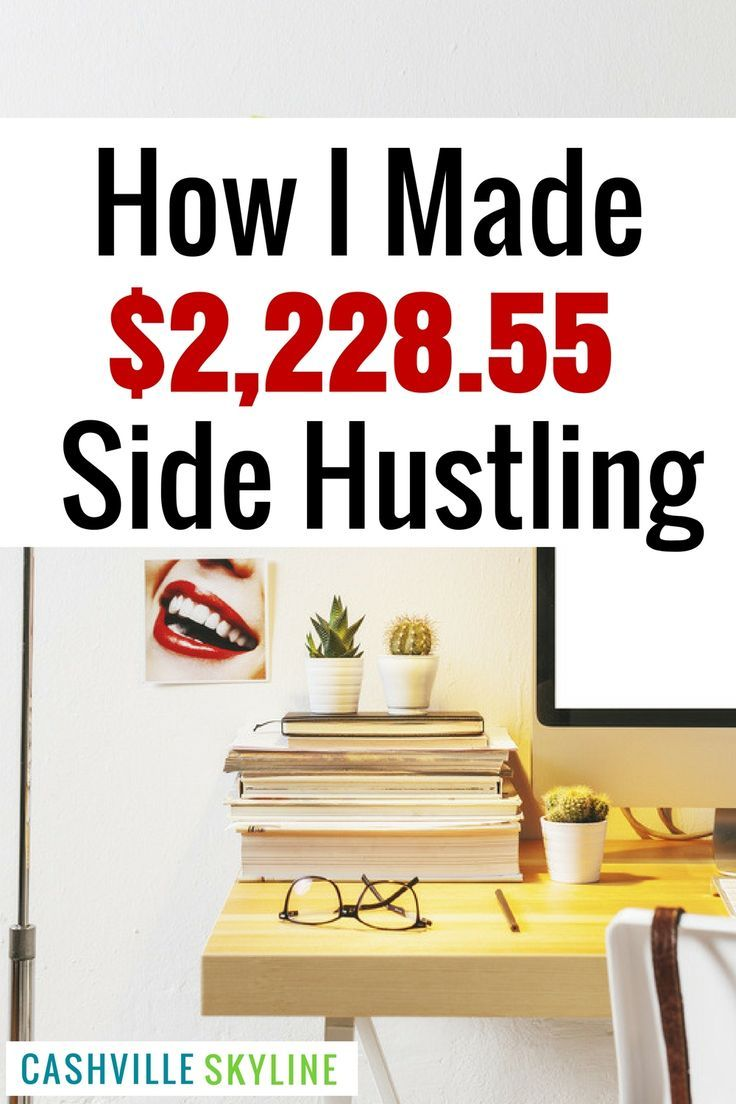 Looking for side hustle ideas? Here's how I increased my income by $2,228.55 in one quarter! I love finding new ways to make extra money.