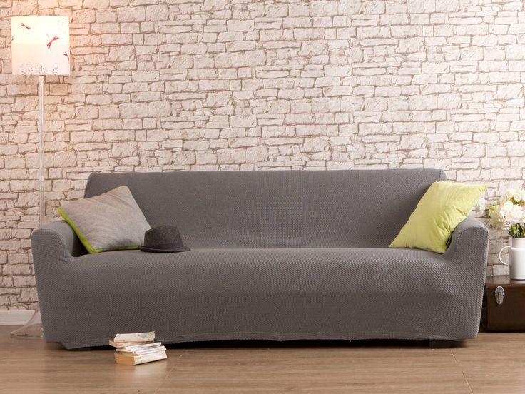 55% coton 40% polyester 5% elasthane Grammage : 350 gr/m2 Cette housse convient aux canapés dont les dimensions sont les suivantes : Longueur totale (assise + accoudoirs)...