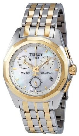 Tissot Women's Mother-Of-Pearl Dial Watch  I really like mine, it is elegant & indestructible!