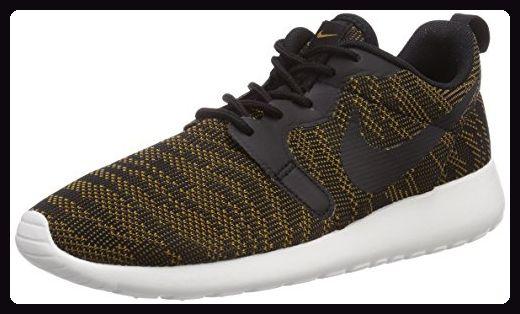 Nike Roshe Run 705217-700, Damen Laufschuhe Training, Braun (Bronzine/Schwarz-Sail 700), EU 38 - Sneakers für frauen (*Partner-Link)