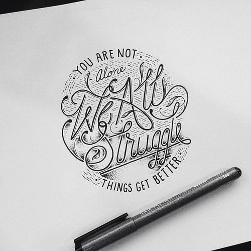 Typeverything.com Hand-lettering by Raul...
