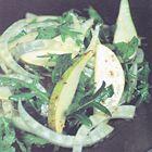 Een heerlijk recept: Gordon Ramsay: salade van rucola venkel waterkers
