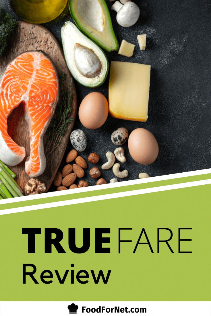 True Fare is a frozen meal delivery service that focuses