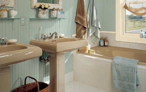 Small Beach Cottage Decorating | Cottage-Style Bathroom Renovation Ideas