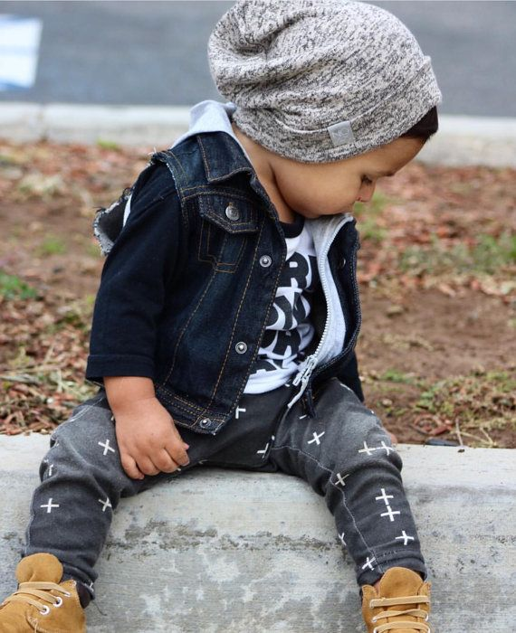 Love this slouchy beanie available for a toddler!
