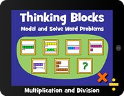 Thinking blocks - solving word problems interactively!