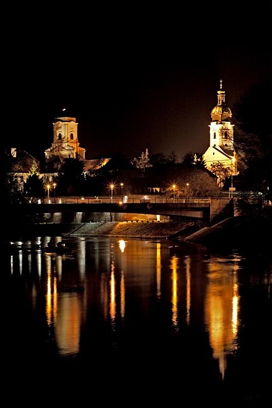 Győr este