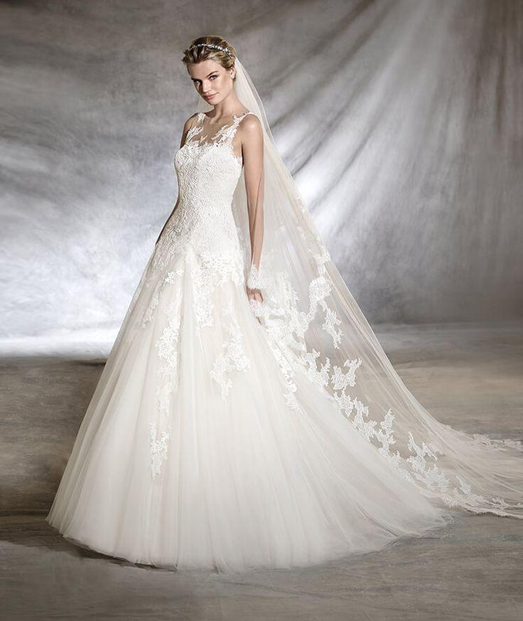 OLWEN - A-line princess wedding dress