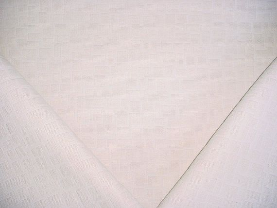 3-1/8 Yards Nobilis of Paris 10459 Goult- Linen / Cotton Geometric Transitional Luxury Upholstery Drapery Fabric - Free Shipping