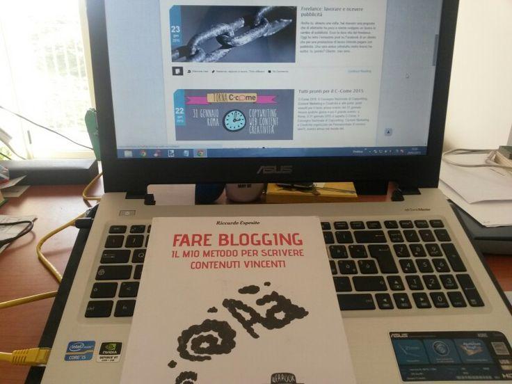 Si prospetta un weekend di lettura formativa grazie al nuovo arrivo in casa:  #fareblogging @riccardoe