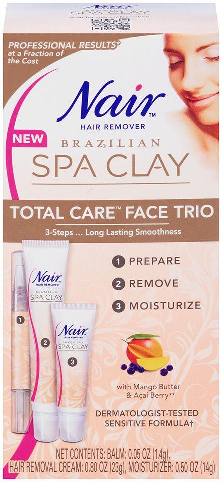 Nair Brazilian Spa Clay Total Care™ #Face Trio