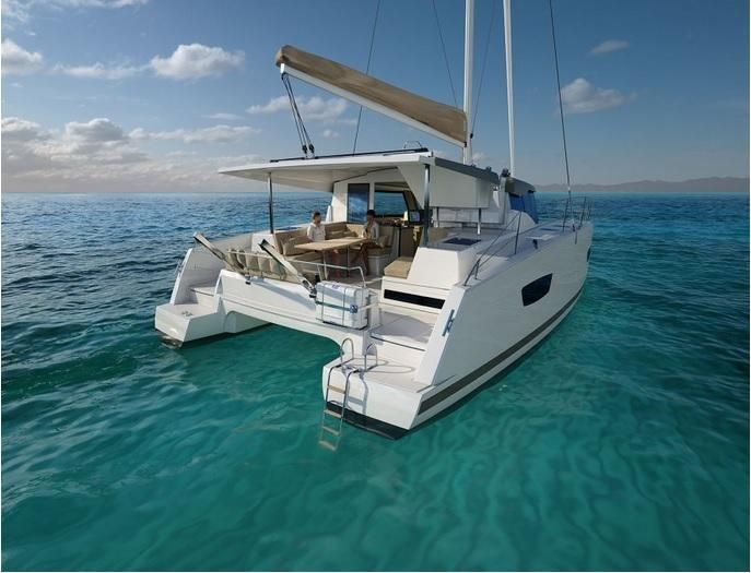Catamaran yacht charter Croatia on board Fountaine Pajot Lucia 40 and visit Croatia islands with Catamaran Charter Croatia, Cabins 4, Berths 8