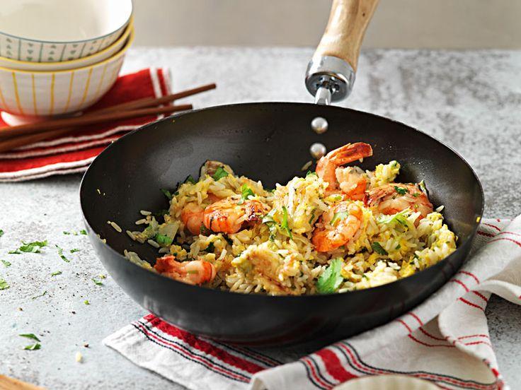 Riso fritto con cavolo cinese e gamberetti - Ricetta - Cucina di stagione