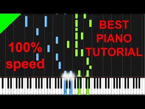 Alan Walker - Faded Piano Tutorial - YouTube