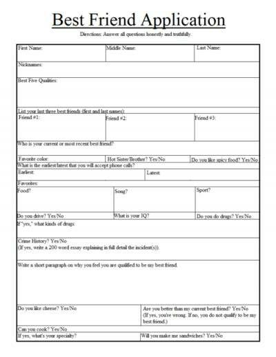 Best  Best Friend Application Ideas On   Dating