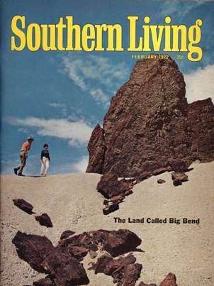 Vintage Southern Living Cover From February 1972