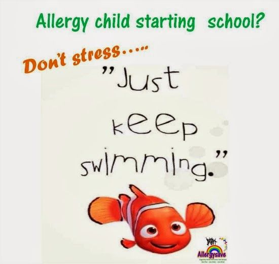 Parenting a child with Multiple Food Allergies: Preparing for starting school next year.
