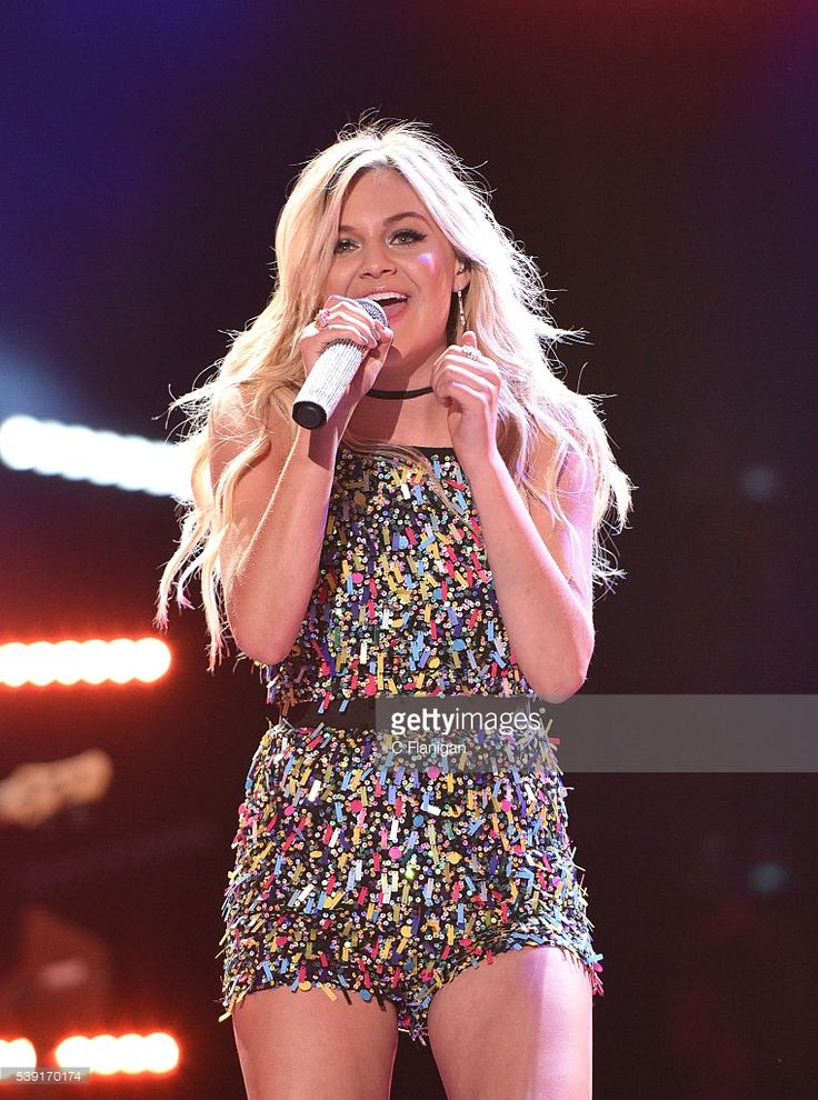 Kelsea Ballerini performs during the 2016 CMA Music Festival at Nissan Stadium on June 9, 2016 in Nashville, Tennessee.