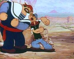 Popeye the sailor man ;)