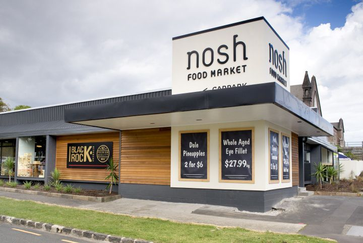 Nosh supermarket by Studio Gascoigne, Auckland Mount Eden » Retail Design Blog