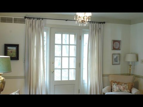 78 ideas about french door curtains on pinterest curtains for french doors door window. Black Bedroom Furniture Sets. Home Design Ideas