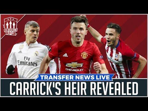 Jose Mourinho's Carrick Solution   Manchester United Transfer News