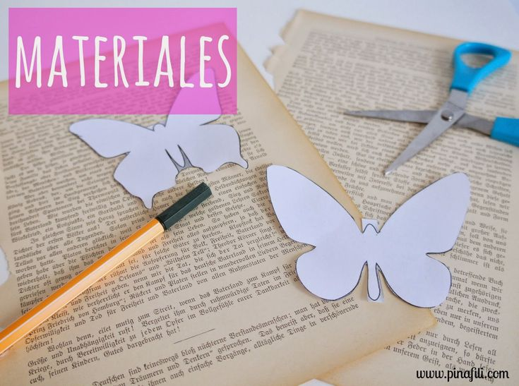 33 best designing my romantic garden images on pinterest - Como hacer mariposas de papel ...