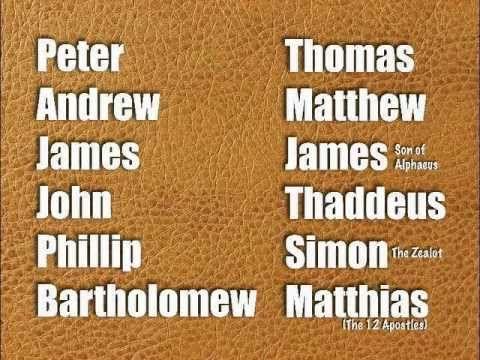 13 best images about 12 disciples