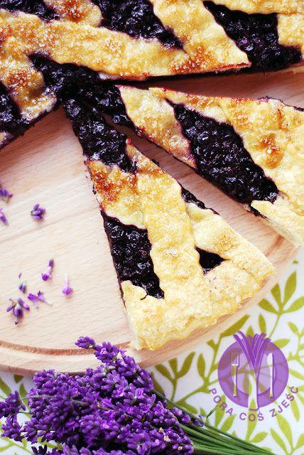 Tart with blueberries / Tarta z jagodami
